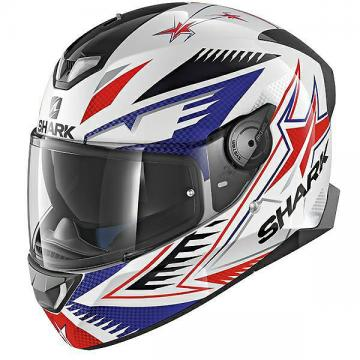 SHARKヘルメット SKWAL 2 DRAGHAL (White Blue Red/WBR)