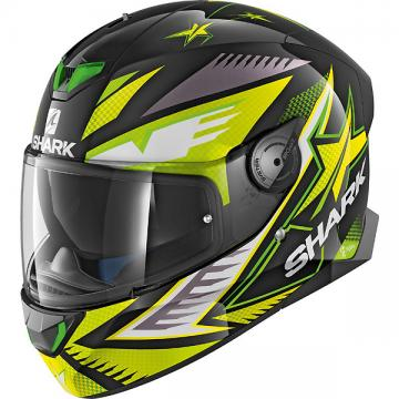 SHARKヘルメット SKWAL 2 DRAGHAL (Black Green Yellow/KGY)