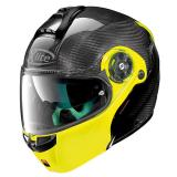 X-lite X-1004 ULTRA CARBON 4CARBON-FLUO YELLOW CHIN GUARD
