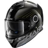 SHARK Helmet SPARTAN CARBON-SKIN/SILICIUM / Carbon Anthracite Yellox/DAY