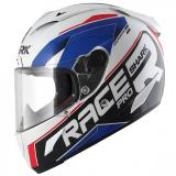SHARKヘルメット RACE-R PRO SAUER (White Blue Red/WBR)