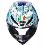 AGV Pista GP R Winter Test 2017 Rossi Helmet - Limited Edition