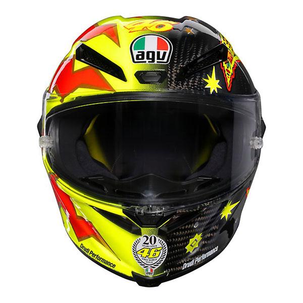 agv pista gp r rossi 20 years helmet limited edition 株式会社