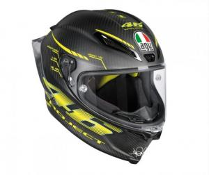 AGV PISTA GP R E2205 TOP - PROJECT 46 2.0 CARBON MATT